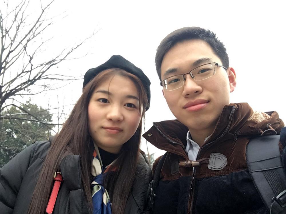 2017年寒假我去阜阳找笑笑玩