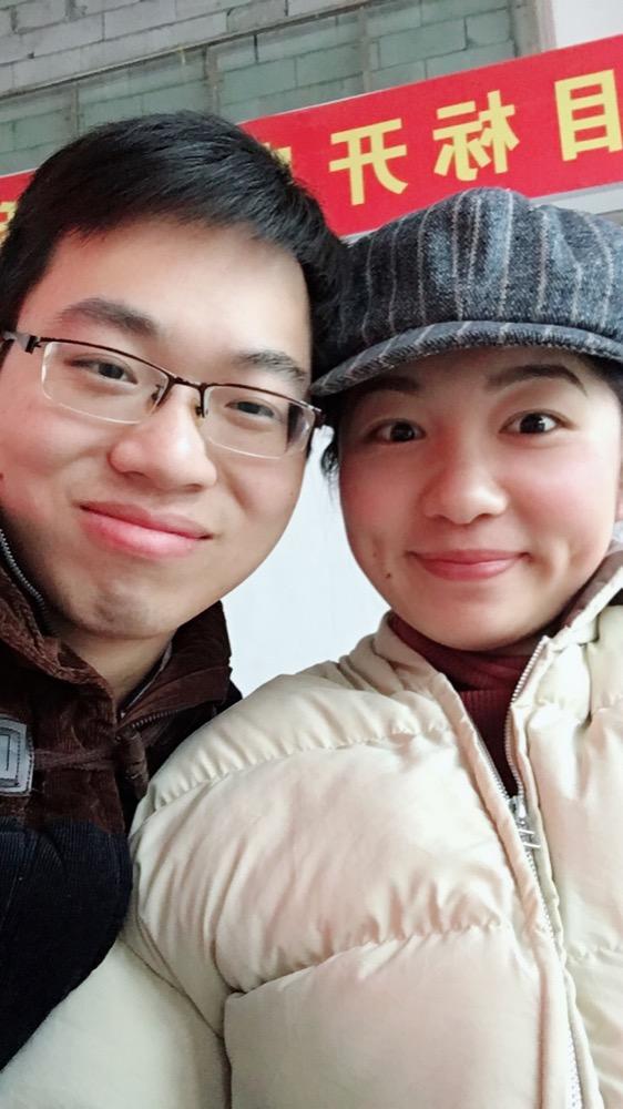 2018年寒假回家经过阜阳在南站与她的匆匆相见