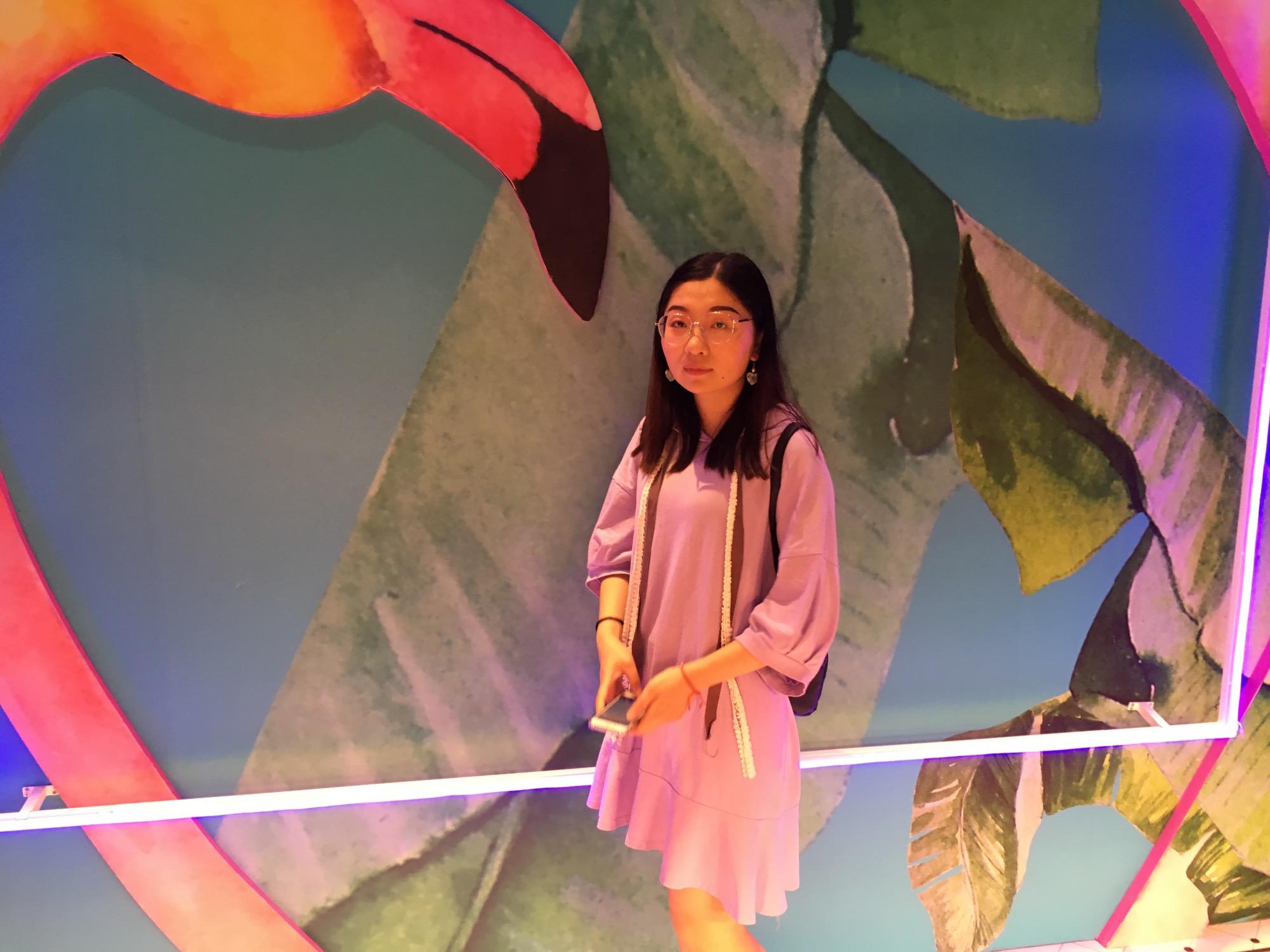 2018年5月,和宝宝一起去K11艺术中心玩